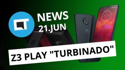 """Moto Z3 Play ganha versão """"turbinada"""" no BR; Instagram lança IGTV e + [CT News]"""