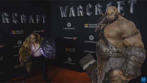 Microsoft se une à Legendary para levar ogros de Warcraft ao HoloLens