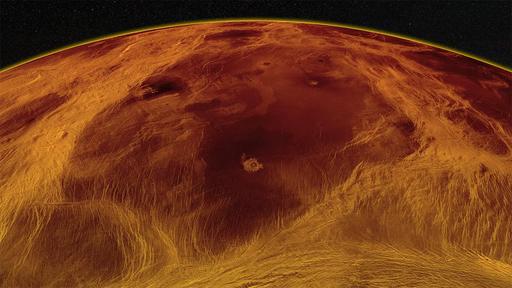 Clima noturno de Vênus é registrado pela primeira vez por sonda espacial