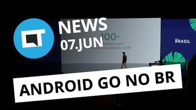 Huawei de volta ao Brasil; Android Go da Alcatel,Multilaser e Positivo [CT News]