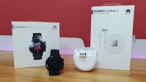Huawei não desiste do Brasil e anuncia Watch GT 2 e fones sem fio FreeBuds 3