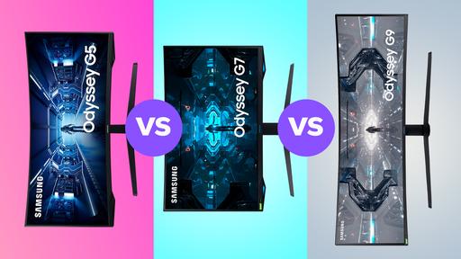 Samsung Odyssey G5 vs G7 vs G9   Qual vale a pena comprar?