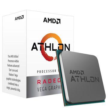 Processador AMD Athlon 3000G Two Core, Cache 5MB, 3500MHz, AM4 - YD3000C6FHBOX [BOLETO]