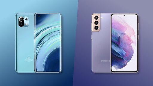Samsung Galaxy S21 vs. Xiaomi Mi 11: quem vence um duelo de especificações?