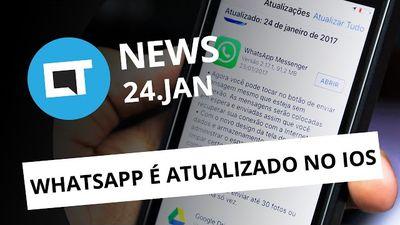 Mensagem offline no WhatsApp para iOS; LG G6 sem Snapdragon 835 e + [CTNews]