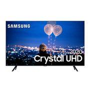 """Samsung Smart TV 50"""" Crystal UHD TU8000 4K, Borda Infinita, Alexa built in, Controle Único, Modo Ambiente Foto"""