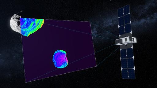 Dois pequenos satélites se juntam à missão Hera, com destino a par de asteroides