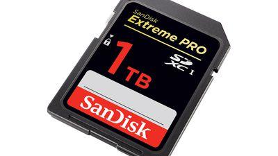 Western Digital anuncia primeiro cartão SD de 1TB do mundo