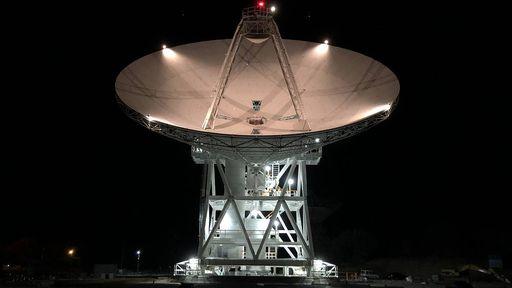 NASA inaugura nova antena da rede de comunicação Deep Space Network