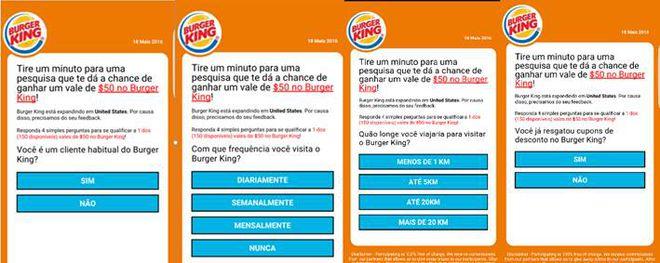 golpe Burger King