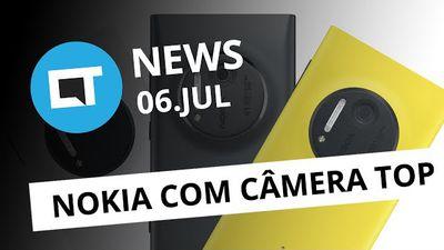 """Nokia vai lançar smartphones com lentes Zeiss; """"WannaCry"""" no Android? e+ [CT News]"""