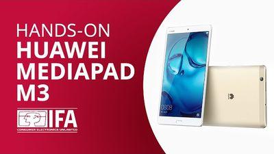 Huawei MediaPad M3: redefinindo o áudio nos tablets [Hands-on IFA 2016]