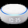 Echo Dot com relógio