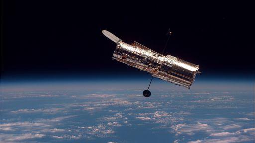 Telescópio Espacial Hubble entra em modo de segurança após falha de sistema
