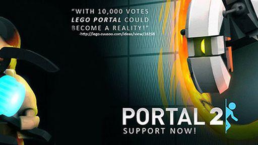 LEGO lança kit baseado no jogo Portal 2