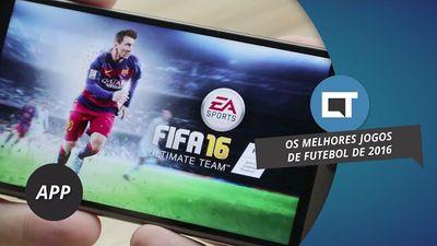 Melhores jogos de futebol de 2016 para smartphones [#DicaDeApp]