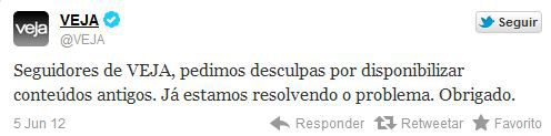 Twitter Veja