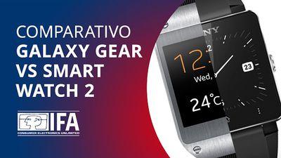 Samsung Galaxy Gear VS Sony SmartWatch 2, quem leva a melhor? [Comparativo | IFA