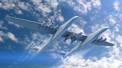 Maior avião do mundo será usado para lançar foguetes ao espaço