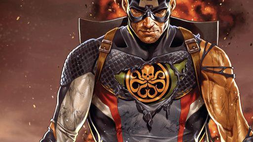 Capitão da Hidra? Relembre a trajetória do Steve Rogers fascista nos quadrinhos