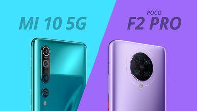 Xiaomi Mi 10 vs Poco F2 Pro: vale a pena investir na diferença?