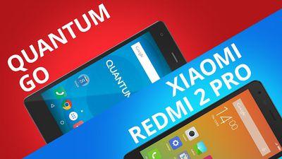 Quantum GO VS Redmi 2 Pro [Comparativo]