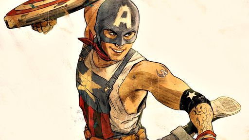 """Marvel Comics terá um Capitão América mais jovem, gay e """"das massas"""" em junho"""