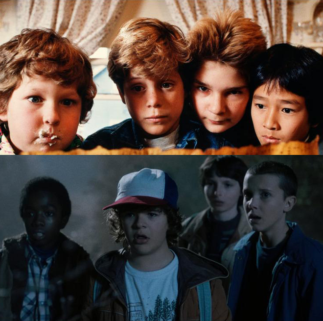 Goonies e Stranger Things