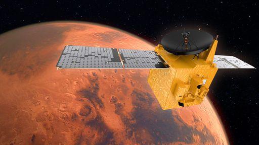 Três missões chegam a Marte nos próximos dias; árabe Hope Mars é a primeira