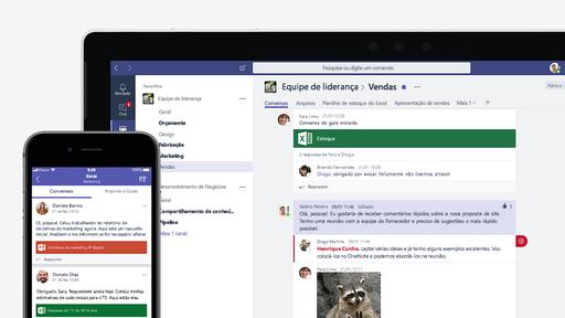 Microsoft Teams registra 500% mais reuniões virtuais com surto do coronavírus