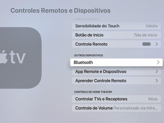 Aprenda como configurar um fone bluetooth na Apple TV