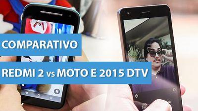 Comparativo: Redmi 2 vs Moto E 2015 DTV