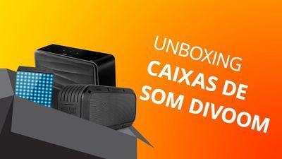 Caixas de som Divoom [Unboxing e Primeiras Impressões]