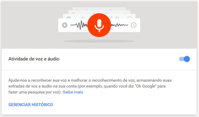 Áudio Google