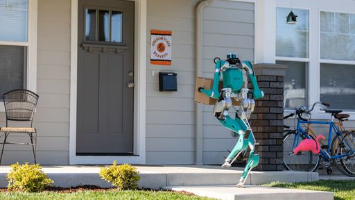 Robôs começam a entregar encomendas em cidade dos EUA