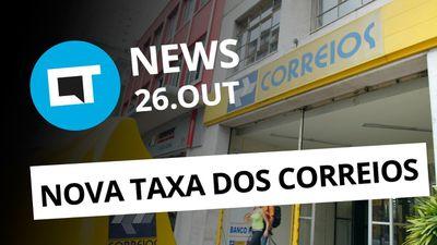 Nova taxa dos Correios; Modo retrato da Motorola; Fraude com a Nubank [CT News]