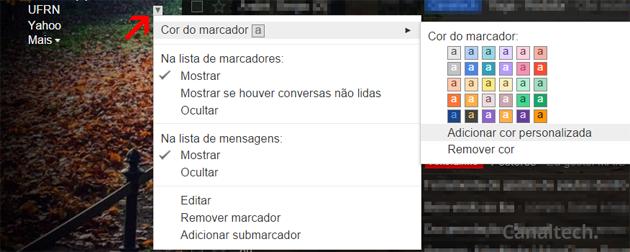 A utilização de marcadores é outro recurso que ajuda a deixar a caixa de entrada do Gmail organizada