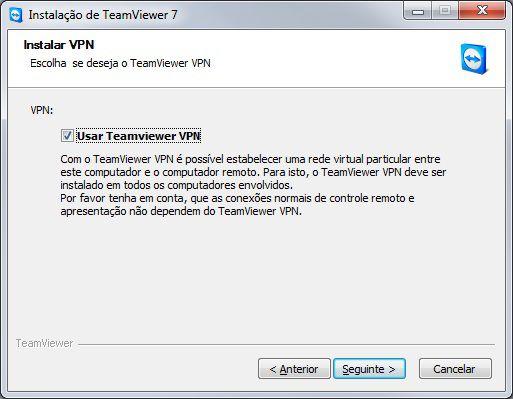 Teamviewer via VPN
