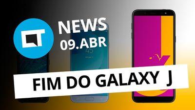 Fim da linha Galaxy J; Snapdragon 665 e 730; Rede social do Nubank e+ [CT News]