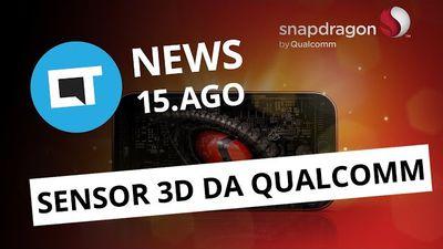 Qualcomm traz detecção facial pro Android; Bill Gates doa bilhões [CT News]