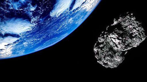 Quase de surpresa, asteroide passa de 'raspão' pela Terra