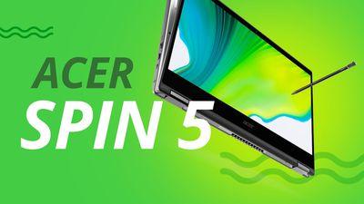 Acer Spin 5: bom em quase tudo
