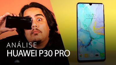 A MELHOR CÂMERA de celular DO MUNDO: Huawei P30 PRO [Análise/Review]