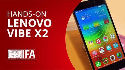 Vibe X2: o smartphone com design interessante da Lenovo [Hands-on   IFA 2014]
