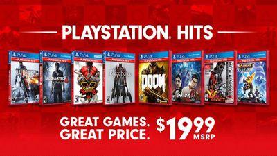 Sony divulga lista de jogos PlayStation Hits para o PS4; confira