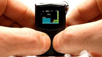 PocketSprite |Game Boy do tamanho de um chaveiro vai se tornar realidade