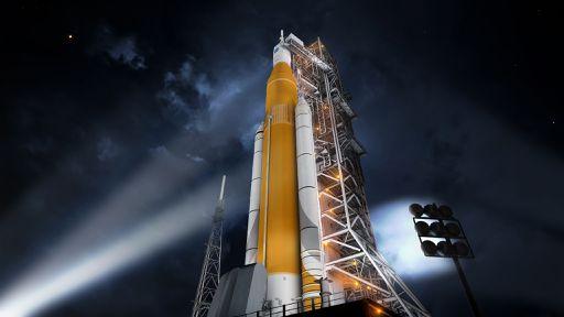 Atrasado, foguete SLS da NASA pode começar a voar apenas em 2021