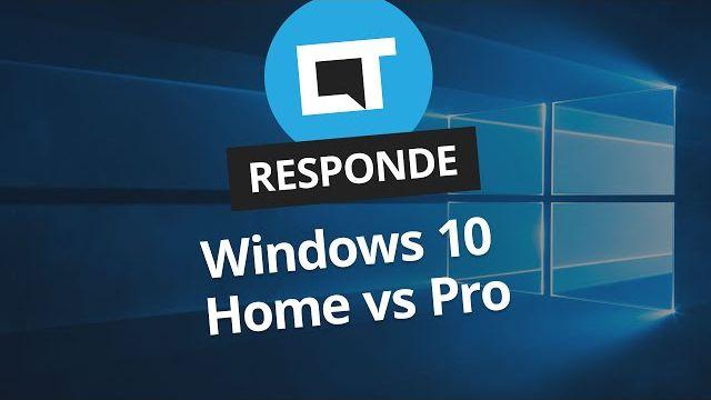 ceb52a28a97ee Qual é a diferença entre Windows 10 Home e Pro   CT Responde  - Vídeos -  Canaltech