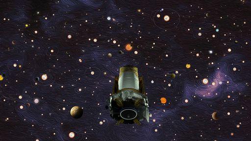 Telescópio espacial Kepler é oficialmente aposentado pela NASA