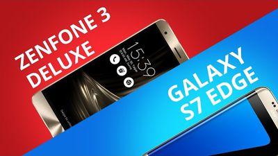 Zenfone 3 Deluxe vs Galaxy S7 Edge [Comparativo]